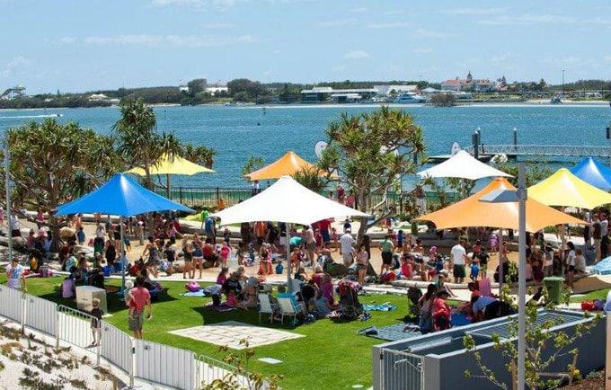 kids birthday parties broadwater parklands gold coast