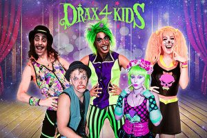drax 4 kids boys parties