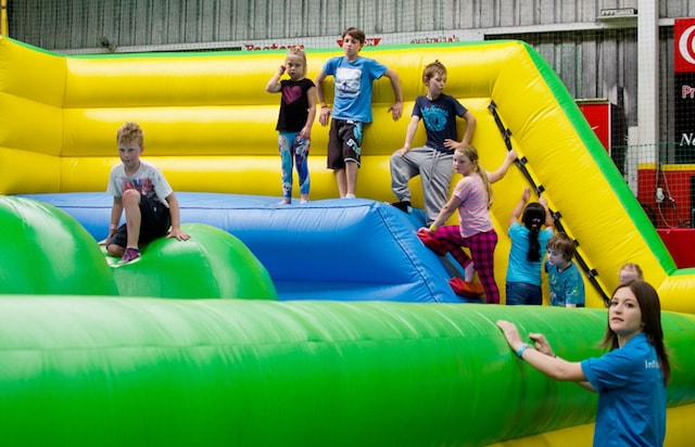 inflatable world kids parties